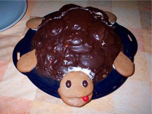 Рецепт классический торт черепаха