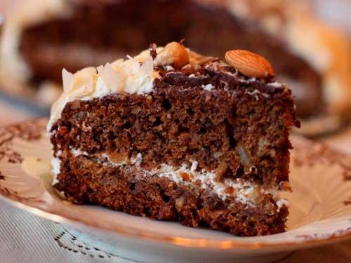 Как сделать торт из шоколадных пряников и сметаны