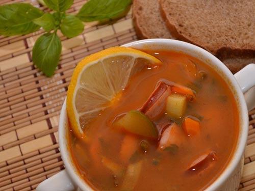 Рецепт супа солянка с пошагово в
