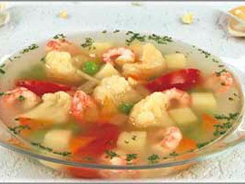 Суп из белокочанной капусты с картофелем